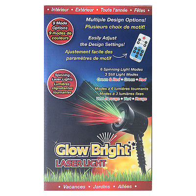 Glow Bright Laser Light Pro – Feestverlichting in een handomdraai ...