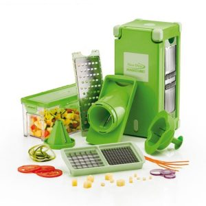 Nicer Dicer Magic Cube set inhoud